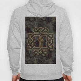 Decorative celtic knot, vintage design Hoody