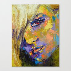 Secrecy Kristina Canvas Print