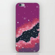Pink Rift Galaxy (8bit) iPhone & iPod Skin