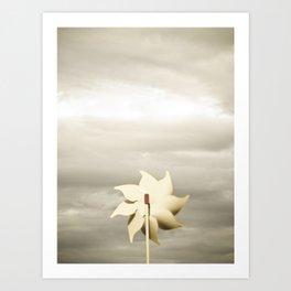 The Windmill Poster Art Print
