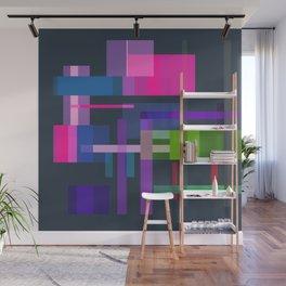 Imitation Mid-20th Century Abstraction, No. 3 Wall Mural