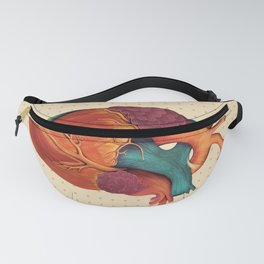 Anatomical Human Heart - Textbook Color Fanny Pack