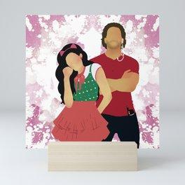 Sinfully Tangled Mini Art Print
