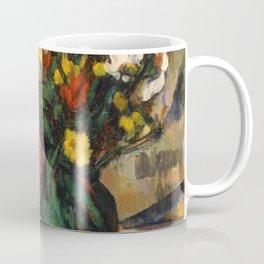 "Paul Cezanne ""Fleurs et pommes (Flowers and fruits)"" Coffee Mug"