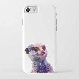 Galaxy Meerkat iPhone Case