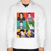 hedwig Hoodies featuring From Harry To Hedwig by byebyesally