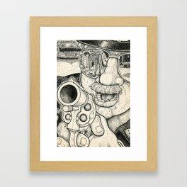 Caught 2 Framed Art Print