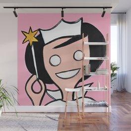 Mrs White Wall Mural