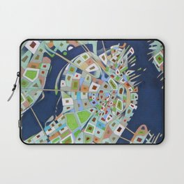 city map Laptop Sleeve