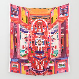 Scarlet Serpent of Knowledge Wall Tapestry