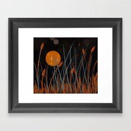 Autumn Moon #Original Art Framed Art Print
