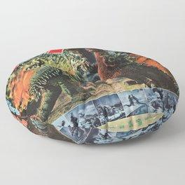 Godzilla Floor Pillow