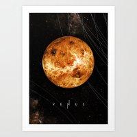 venus Art Prints featuring VENUS by Alexander Pohl
