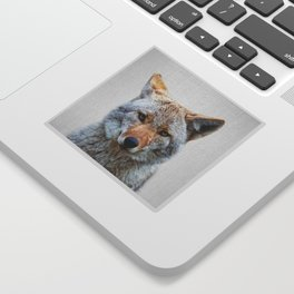 Coyote - Colorful Sticker