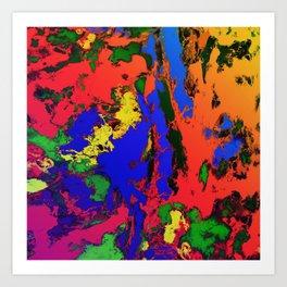 External influences Art Print