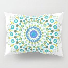 Dotty Mandala Green Pillow Sham