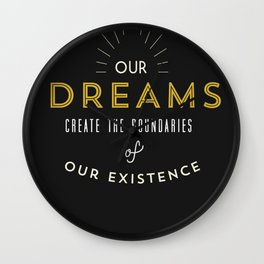 johan dreams Wall Clock
