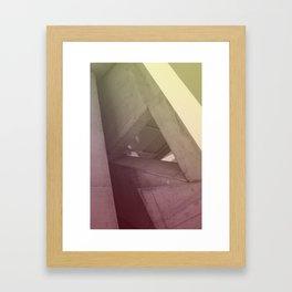Zaha Framed Art Print