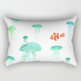 Sea of Jellies Rectangular Pillow