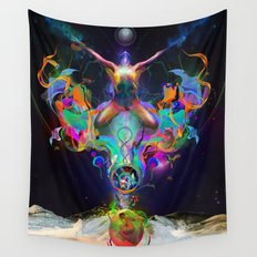 Fractalised Duality Wall Tapestry