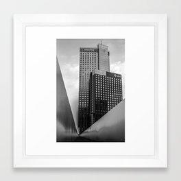 Maastoren Rotterdam Framed Art Print