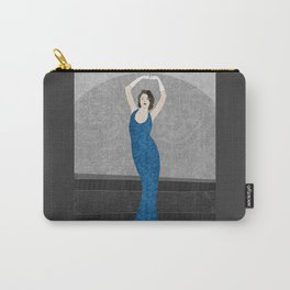 Marvelle, a fashion illustration Carry-All Pouch