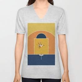 Basketball Vibes  Unisex V-Neck