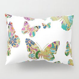otomi butterflies Pillow Sham