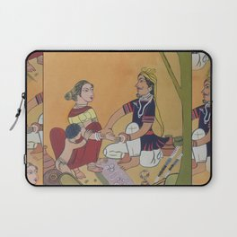 Bangles salesman Laptop Sleeve
