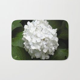 Hydrangea Bloom Bath Mat