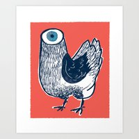 Your Meat Knows… Art Print