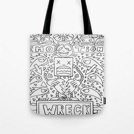 Emotional Wreck Tote Bag