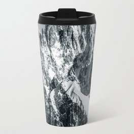 Face of Massive Travel Mug