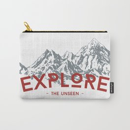 EXPLORE THE UNSEEN Carry-All Pouch