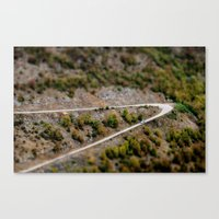 road Canvas Prints featuring Road by PhotoStories