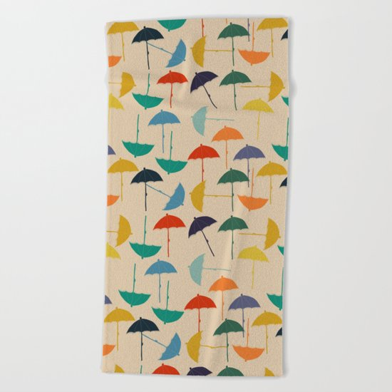 Sun umbrella Beach Towel