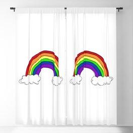 LGBT Rainbow Blackout Curtain