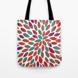 Watercolor brush strokes - multicolor Tote Bag
