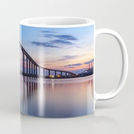 The Jordan Bridge at Twilight Coffee Mug