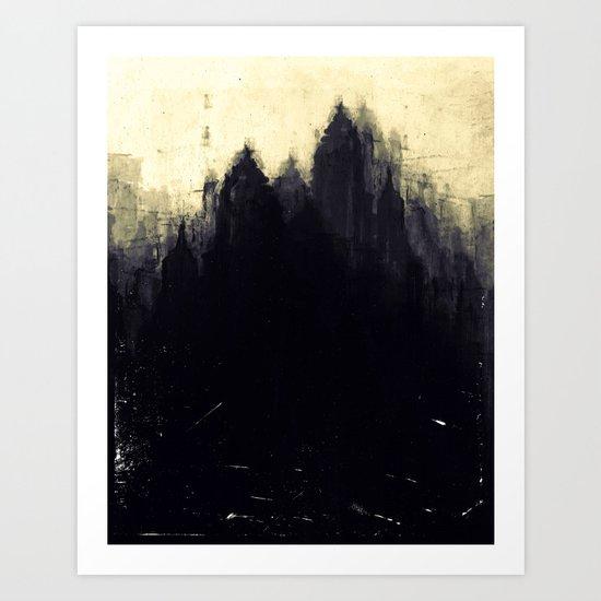 Edinburgh studies Art Print