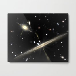 616. Galaxies of All Shapes and Sizes Metal Print