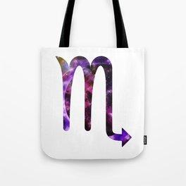Galactic Scorpio Tote Bag
