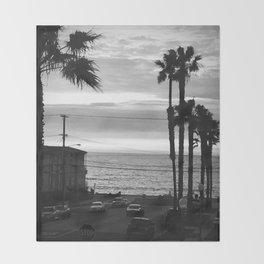 Classic Redondo Beach Throw Blanket