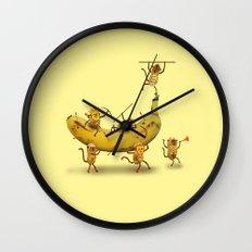 Monkeys are nuts! Wall Clock