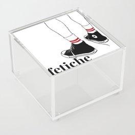 fetiche #1 (white) Acrylic Box