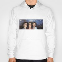 casablanca Hoodies featuring THE THREE GREAT LADIES by Kaitlin Smith