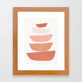 Abstract Minimal Shapes IV Framed Art Print