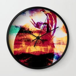 Boiling Wall Clock
