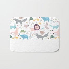 Happy Animals Bath Mat