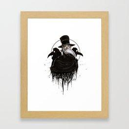 Plague Doctors Framed Art Print